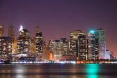 MANHATTAN SKYLINE, new york city — Stock Photo