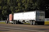 Truck and Trailer Rig — Stock Photo