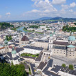 Royalty-Free Stock Photo: View from the Hohensalzburg Castle - Salzburg, Austria