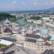View from the Hohensalzburg Castle - Salzburg, Austria - Stock Photo