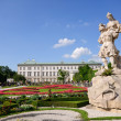 Mirabell Palace and Garden - Salzburg, Austria — Stock Photo