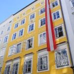 Mozart's Birthplace - Salzburg, Austria — Stock Photo #3960588