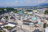 View from the Hohensalzburg Castle - Salzburg, Austria — Stock Photo