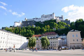 Hohensalzburg Castle - Salzburg, Austria — Stock Photo