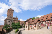 Kaiserburg - Nürnberg/Nuremberg, Germany — Stock Photo