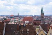 View from the Kaiserburg - Nürnberg/Nuremberg, Germany — Stock fotografie