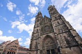 St. Lorenz Church - Nürnberg/Nuremberg, Germany — Stock Photo