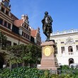 Statue of Johann Wolfgang Goethe - Leipzig, Germany — Stock Photo
