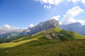 The Sella massif group - Dolomites, Italy — Stock Photo