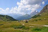 Pordoipas - dolomieten, italië — Stockfoto