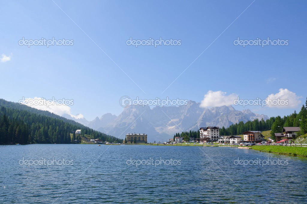 lac de misurina et sorapiss dolomites italie photographie hiro1775 4118268. Black Bedroom Furniture Sets. Home Design Ideas