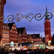 Christmas market - Stock Photo