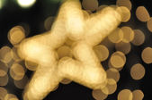 Stars, Christmas illuminations — Stock Photo