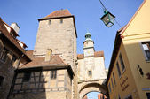 Rothenburg ob der Tauber, Germany — 图库照片