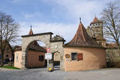 Rothenburg ob der Tauber, Germany — Stock Photo