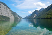 Koenigssee near Berchtesgaden, Germany — Stock Photo