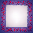 Stock Photo: Jewels and paper sheet frame