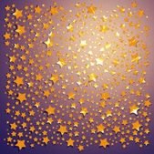 Star shaped confetti — Stock Photo