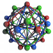 Stock Photo: Molecular structure.