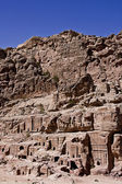 Petra Ancient Tombs — Stock Photo