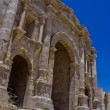 Hadrian's gate - jerash — Stock Photo