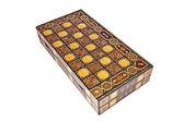 Antyczne backgammona pole — Zdjęcie stockowe