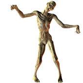 Walking undead zombie — Stock Photo