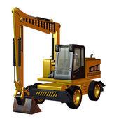 Excavator Construction Vehicle — Stock Photo