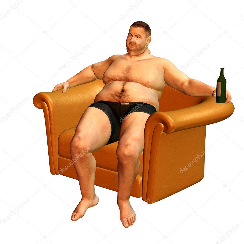 Толстый сексуальный мужчина 10 фотография