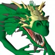 The Green Dragon — Stock Photo