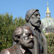 Marx and Engels - Stock Photo