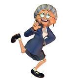 Šťastná babička — Stock fotografie