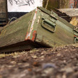 Stock Photo: Old ammunition box