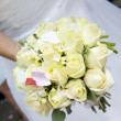 Bride&#039;s bouquet - Foto Stock