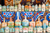 Egyptian sand art bottles — Photo