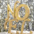Stock Photo: Gold Noel