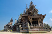 Wooden temple — Stock Photo