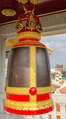 Buddhist temple bell — Stock Photo