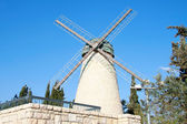 Flour mill to wind — Stock Photo