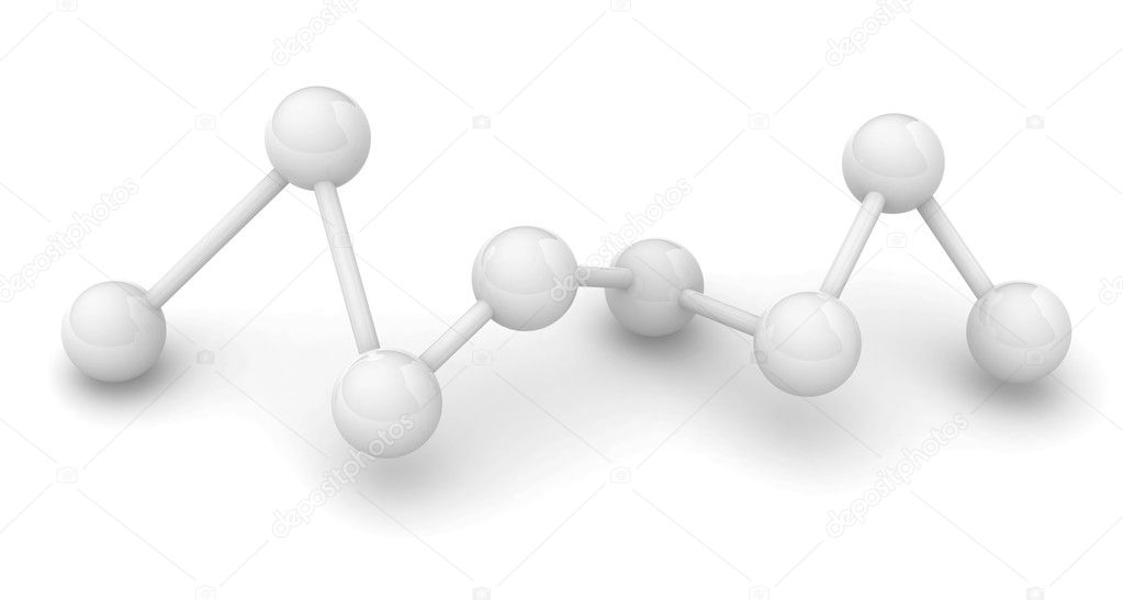 Molecule  Stock Photo #4020540