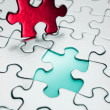Stock Photo: Puzzle piece