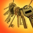 Keys — Stock Photo #4018107