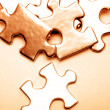 Puzzle pieces — Stock Photo