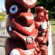 Maori carvings — Stock Photo