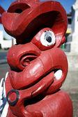 Sculpture Maori — Photo