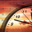 Time passing — Stockfoto