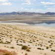 Stock Photo: Mountains and Walker Lake in Nevada