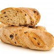 Stock Photo: Some baguettes with raisins