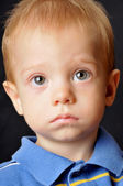 Cute boy with big eyes — Stock Photo