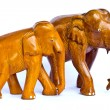 Wood elephant — Stock Photo #4030120